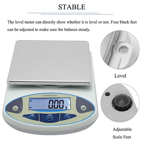 c0640c2fef25 CGOLDENWALL High Precision Lab Digital Scale Analytical Electronic ...