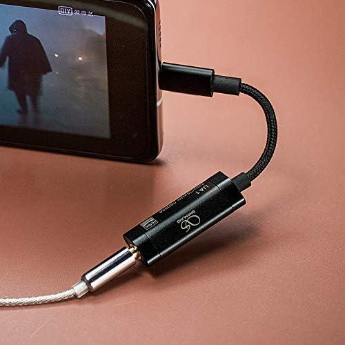 Cable Adaptador DAC//Amplificador con Entrada USB-C a Salida 3.5mm Shanling UA1