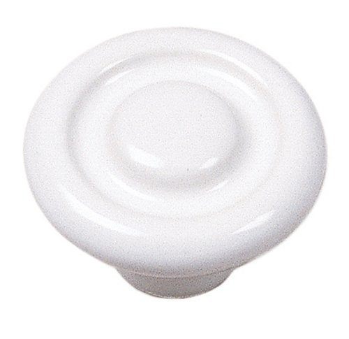 Laurey 1542 Mesa Circle Impression 1-3/8-Inch Diameter Ceramic Knob, - Ceramic Knob Mesa