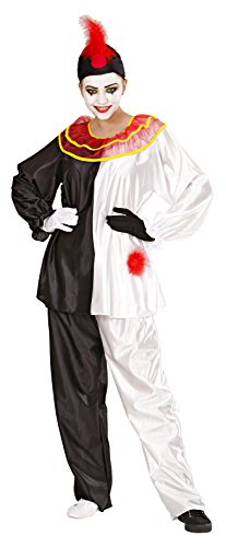 Pierrot Costume Uk (Mens Pierrot Costume Small Uk 38/40