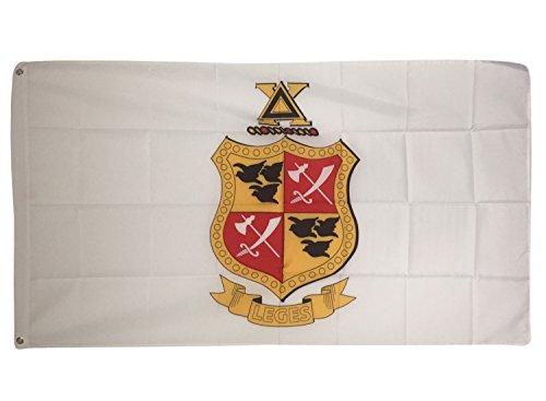 Desert Cactus Delta Chi Crest Fraternity Flag Greek Letter U