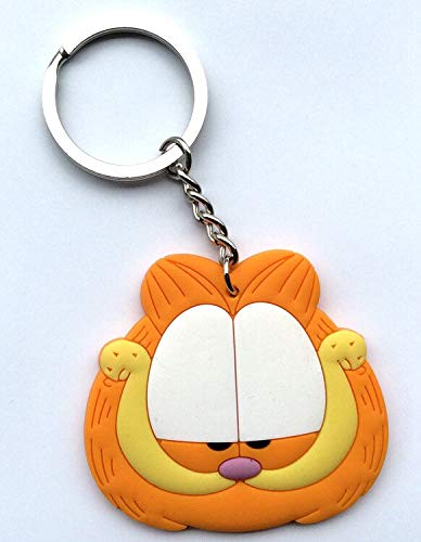 VIDANL 20Pcs/Lot PVC Cat Keychain para Mujer Key Chain Porte Clef Key Ring Blister Card Gift for Kids Bag Charm Man U Must Have Birthday Gifts Toddler Favourite Superhero Party Supplies UNbox Toys (Pookie Keychain)