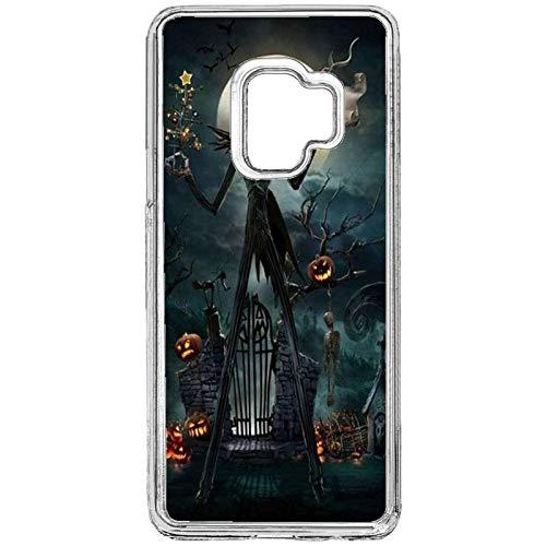 Samsung Galaxy S9 Halloween Phone Case,Custom Protective Phone Case,Halloween Hard Plastic Hard Plastic Phone Case Fit for Samsung Galaxy S9 (5.8