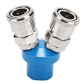 Amazon.com: Conector de compresor de aire neumático de 1/4 ...