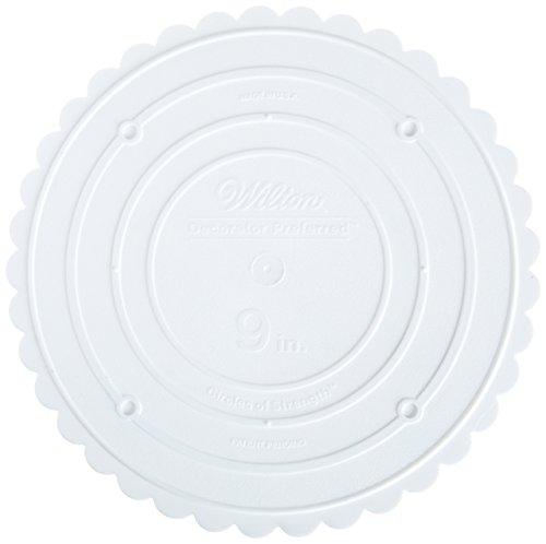 Wilton 302-9 Decorator Preferred Round Separator Plate for Cakes, 9-Inch