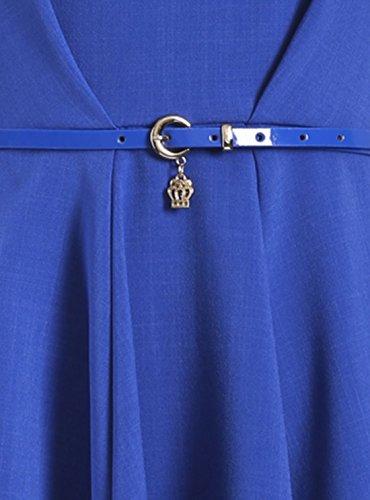 Closet Damen Kleid blau blau Einheitsgröße