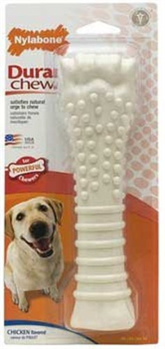 Nylabone Dura Chew Bone, Chicken Flavor, Souper, My Pet Supplies