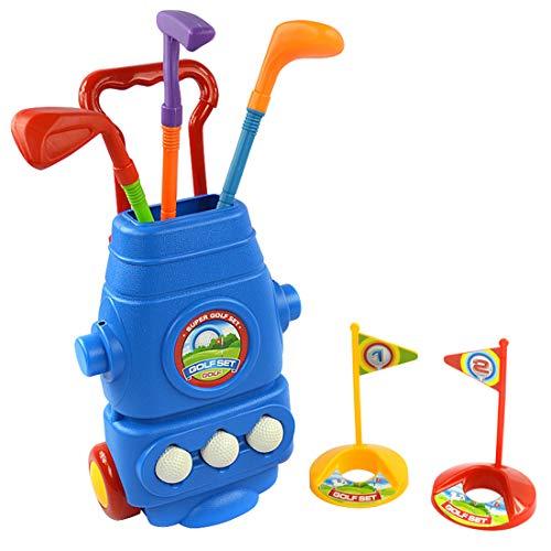 Amazon.com: Chi Mercantile Kiddie Golf Pro - Juego de ...