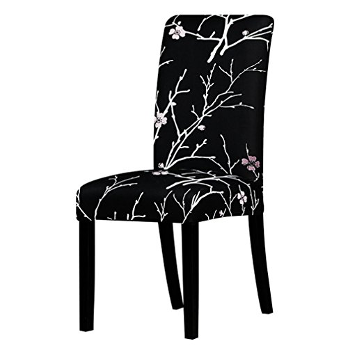 (NUAN HUOBAO Printing Zebra Stretch Chair Cover Big Elastic Seat Chair Covers Painting Slipcovers Restaurant Banquet Hotel Home Decoration 125813 Universal Size)