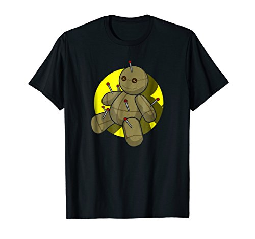 Voodoo Doll - Cute Psycho Halloween Graphic T-Shirt -