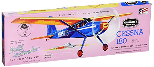 Guillow's Cessna 180 Model Kit (Guillows Model Airplane Kits compare prices)