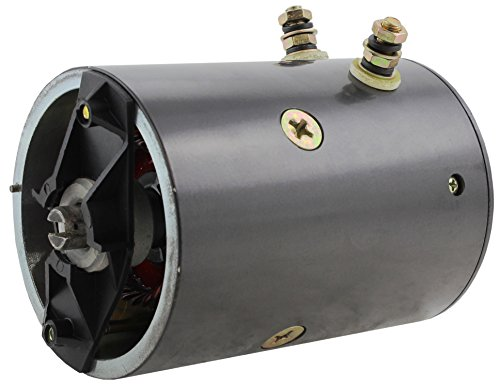 (New Slot Shaft Plow Motor for Fisher & Western Snow Plow Applications 21500K-1 21500 48285 21500, MPV21500 46-2473, 46-2584, 46-3618, 46-4175 MKW4009, MUE6103, MUE6111, MUE6111S, MUE6206AS, MUE6306)
