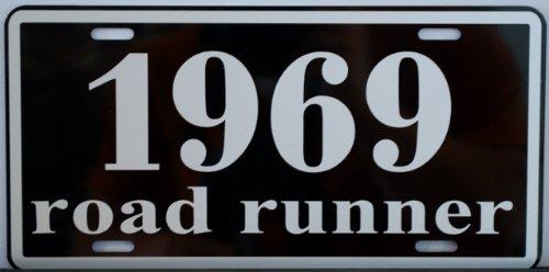 Motown Automotive Design 1969 69 ROAD RUNNER LICENSE PLATE