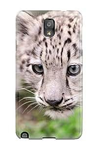 Galaxy Note 3 Case Bumper Tpu Skin Cover For Snow Leopard Accessories