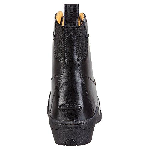 Stiefelette »ULTIMA PRO LACE« ohne Reißverschluss. Bequeme Boots aus Echtleder   Robuster Reitschuh mit OrthoLite-Sohle, Innenleder, toller Passform  Stiefel Größen 35-46   Farbe: Schwarz schwarz