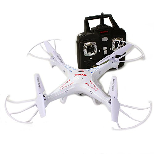 Quadcopter with Camera Drone X5C RC Helicopter - New Upgraded Version with HD Camera, 3D Flip Roll, 6 Axis Gyroscope, 4 Channels Radio Control, 2.4 ghz 300 ft range - KiiToys USA Warranty + Tech Support