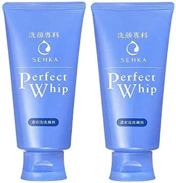 Shiseido Twin Pack Senka Perfect Whip 120g x 2 (Japan Import)