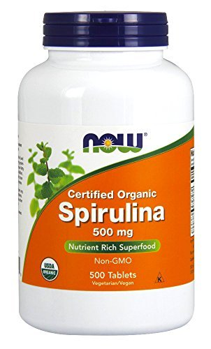 NOW Spirulina Nutrie…