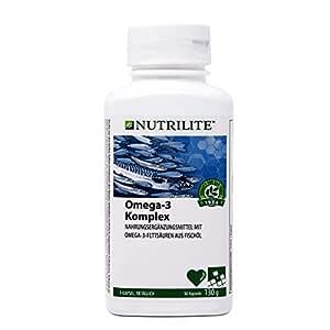 NUTRILITE TM Omega-3 Complex - 90 piezas 130 g (Amway): Amazon.es ...