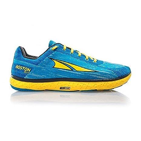 Altra Escalante Boston Mujer Zero Colgante Carretera Zapatillas Para Correr Azul/Amarillo: Amazon.es: Deportes y aire libre