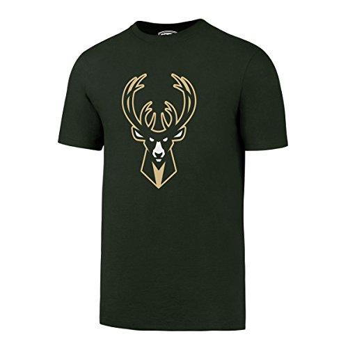 - NBA Milwaukee Bucks Men's OTS Rival Tee, Medium, Dark Green