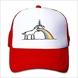536ced6c2ee LINNA Rainbow Unicorn Cotton Hats Sports Hat For Outdoor Sports Red   6145889552975  Amazon.com  Books