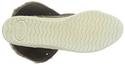 Dockers by Gerli 32LN935-6263 - Zapatillas de Material Sintético para mujer Marrón Braun (hellbraun 340) 40