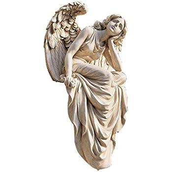 amazon com design toscano resting grace sitting angel statue size