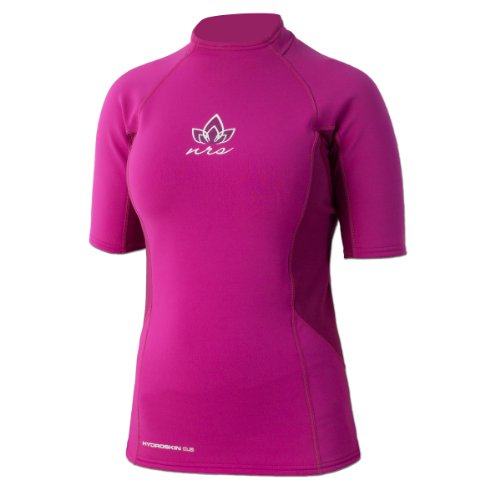 NRS HydroSkin 0.5 SS Shirt - Women's Purple Haze Small