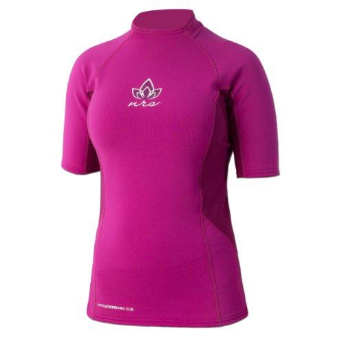 NRS HydroSkin 0.5 SS Shirt - Women's Purple Haze -