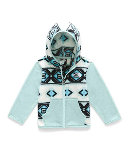 - The North Face Kids Unisex Glacier Hoodie (Infant) TNF White Tribal Geo Print 0-3 Months