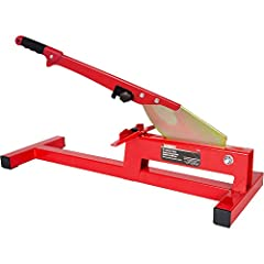 """10-35 Features: -Laminate cutter.-Laminate flooring cutter.-Comfort grip handle.-Easily cut laminate up to 8"""" wide and 0.47"""" thick.-Cut quick and easy heavy duty steel frame.-Manual and dust free cutting speeds up the installation.-Heavy stee..."""
