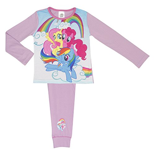 Girls My Little Pony Pyjamas - Age 4-10 Years - 3 Ponies 7-8 Years / 122-128 cm ()
