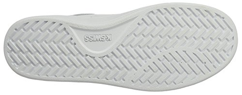 K-Swiss Damen Clean Court Cmf Sneakers, Weiß(White/Gull Gray 131), 42 EU