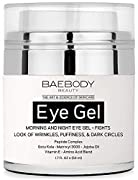 """Baebody Eye Gel fights the appearance of puffiness, dark circles, under eye bags, fine lines and wrinkles! This lightweight, hydrating eye gel provides moisture to the delicate eye, uniquely firming and smoothing your skin. """"Literally thousands of re..."""