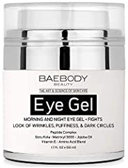 THE STRUGGLE IS REAL! Everyone wants to look their best. Baebody is a beauty and lifestyle brand with a desire to promote quality skin care. We want you to look and feel fabulous! BAEBODY EYE GEL IS THE ONLY SOLUTION YOU NEED! Baebody Eye Gel is a un...