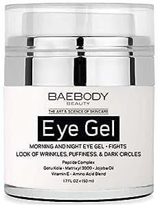 Baebody Eye Gel for Under & Around Eyes, 1.7 Ounces