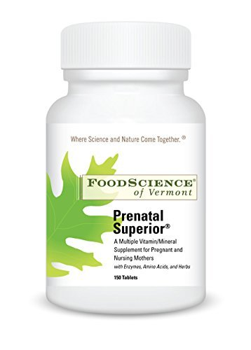 Foodscience of Vermont Prenatal Superior, 120 Tabs by Food Science