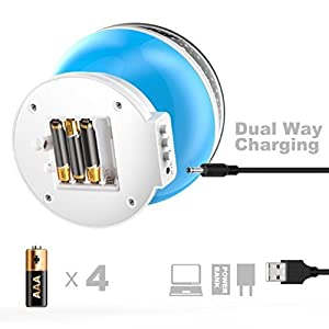 LED Night Lighting Lamp - dual charging