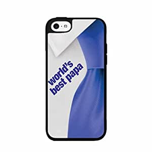 World's Best Papa TPU RUBBER SILICONE Phone Case Back Cover iPhone 4 4s