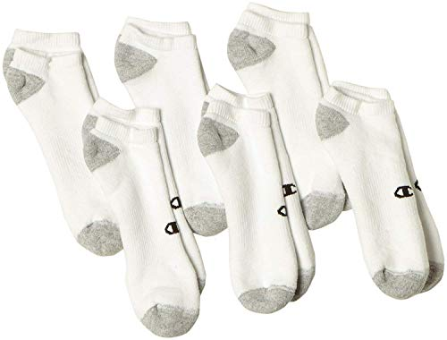 Champion Double Dry Performance Men's No-Show Socks by Champion