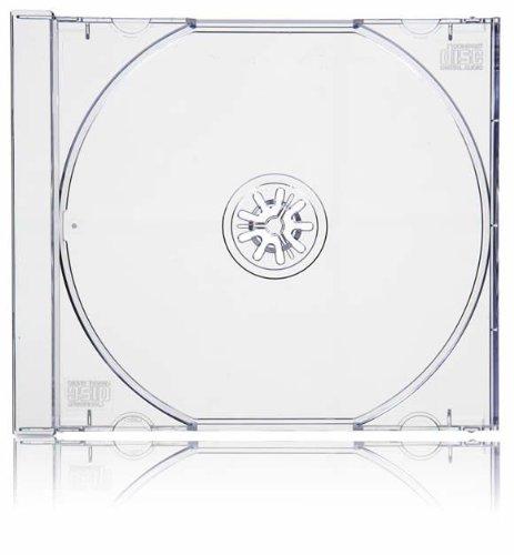 3 opinioni per Vision Media custodia CD singola trasparente dorso 10.4mm x100