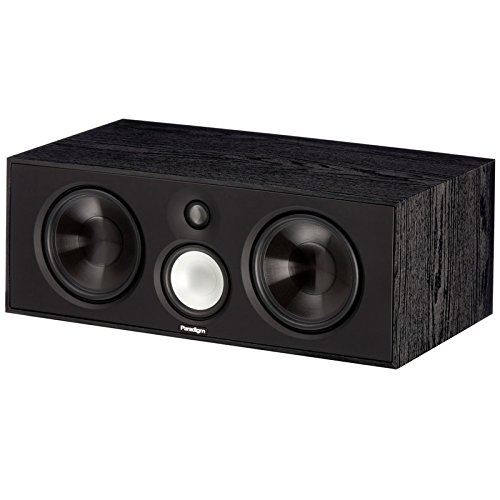- Paradigm Center 3 v7 3-Way Center Channel Speaker in Black Ash