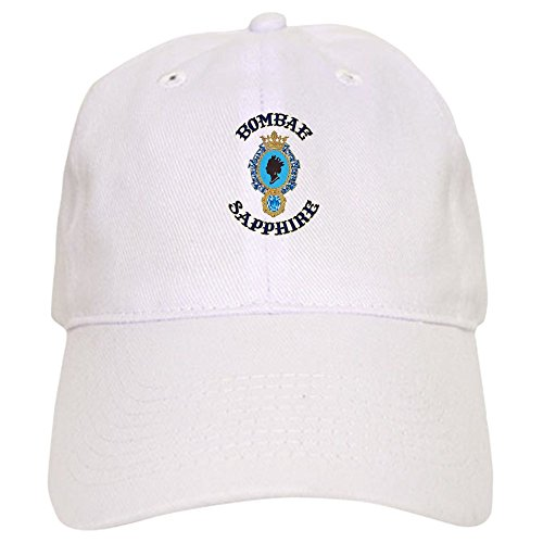 CafePress Bombae Sapphire Baseball Cap with Adjustable Closure, Unique Printed Baseball Hat