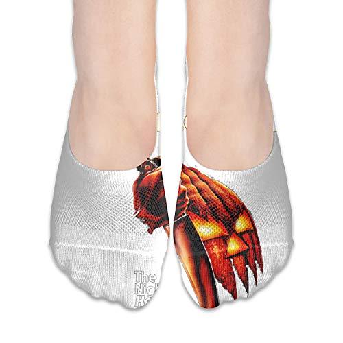 Unisex Halloween Pumpkin Knive Pattern Cute Funny Low Cut Socks Casual Cotton Work Sport Dancing Outdoor Socks