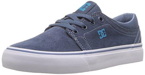 (DC Boys' Trase Skate Shoe, Blue, 1.5 M US Little Kid)