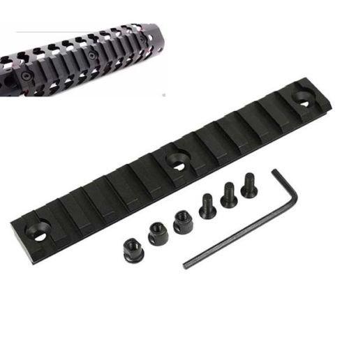 Weaver Rail Dimensions - 13 Slot Keymod 5.25 inch 5