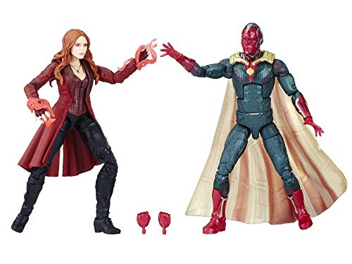 Infinity War Avengers Marvel Legends Scarlet Witch & Vision Two-Pack