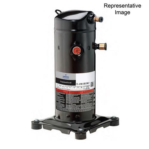 3.5 Ton Copeland R410A UltraTech Scroll # ZPS40K5E-PFV-830 208-230/1 Ph Compressor 41,100 BTU