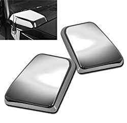 ZMAUTOPARTS Hummer H2 Suv Sut Side Air Intake Hood Vent Cover Chrome Bezel